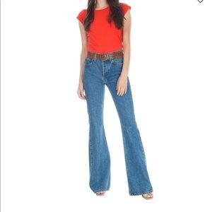 Re/done Originals High Break Flare Jeans 28